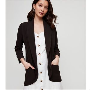 Black Wilfred Crepe Blazer